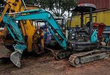 mini excavator singapore