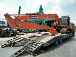 long arm excavator singapore